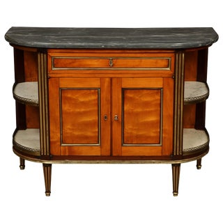 Louis XVI Marble-Top Cabinet For Sale