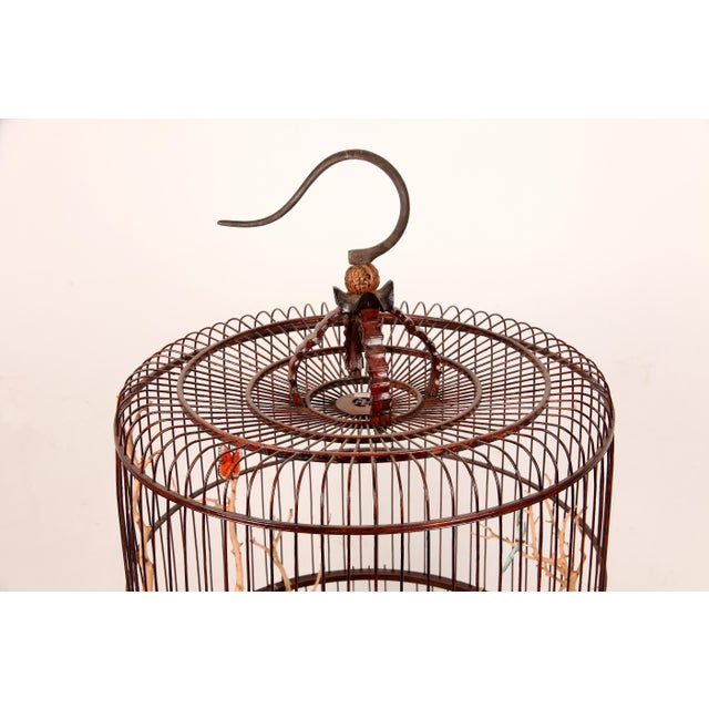 Aristocratic Chinese as well as a broad swath of the retired Chinese population loved to keep birds. This cage date to the...