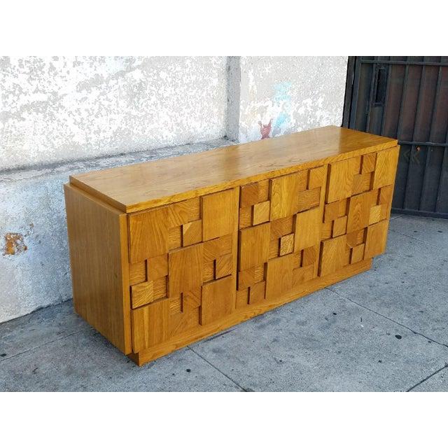 1970's Lane 9-Drawer Dresser - Image 5 of 7