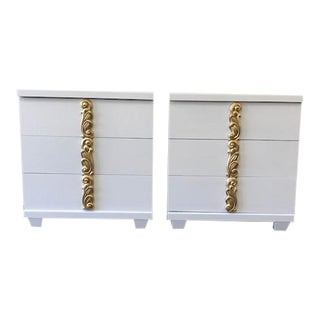 Dorothy Draper Style Merton L Gershun Chests - a Pair For Sale