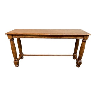 English Fremarc Designs Custom Country Console For Sale
