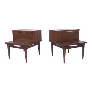 Pair Kent Coffey Tableau Nightstands For Sale