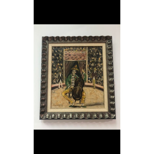 Original Antique Oil on Canvas by Claude Tabet For Sale In Houston - Image 6 of 6