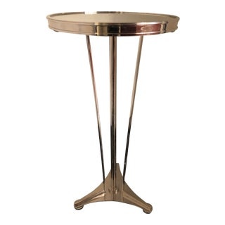 Contemporary Global Views Accent Table For Sale