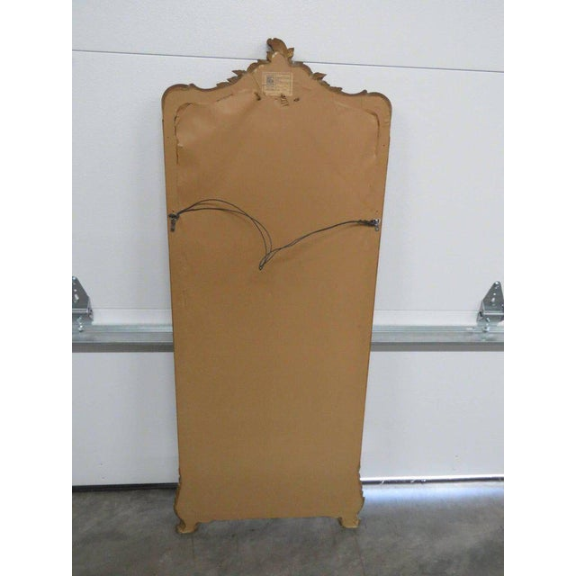 Friedman Brothers Victorian Style Hall Mirror For Sale In Philadelphia - Image 6 of 8