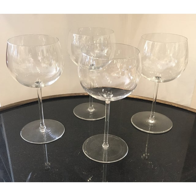 Val St Lambert Wine Goblets - Set of 4 - Image 3 of 11
