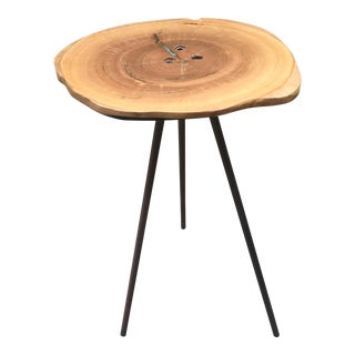 Industrial Stool/Side Table