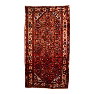 "Vintage Persian Rug-3'9'x6'10"" For Sale"