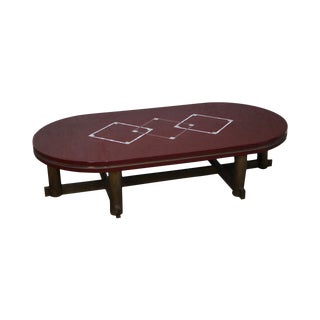 Mid-Century Italian Lacquer Coffee Table For Sale