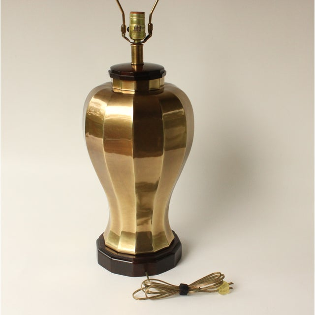 Frederick Cooper Brass Table Lamp - Image 4 of 7