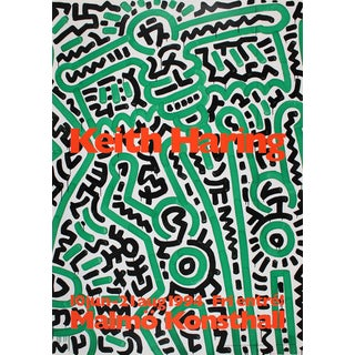 Keith Haring Untitled (For Maria) Detail-1994 Poster