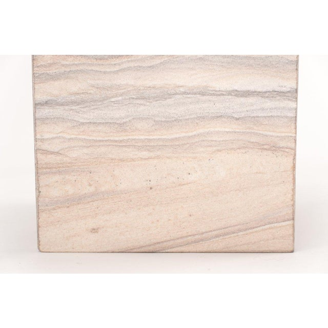 The Rainbow Sandstone Tissue Box Our rainbow sandstone has a rich color palette distinguished by a light base with various...