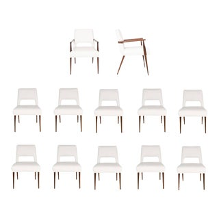 Set of 12 Hofford Dining Chairs For Sale