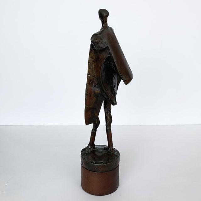 Brass Carole Harrison Figurative Matador Sculpture For Sale - Image 7 of 13