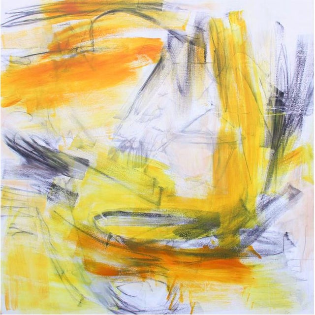"""""""Going West"""" by Trixie Pitts Large Abstract Expressionist Painting For Sale - Image 10 of 10"""