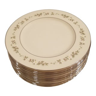 Lenox Brookdale Salad or Dessert Plates - Set of 12 For Sale