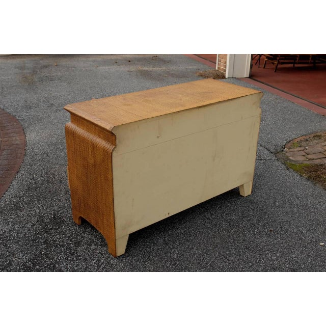 Brown Heavenly Raffia Chest by Harrison Van Horn For Sale - Image 8 of 11