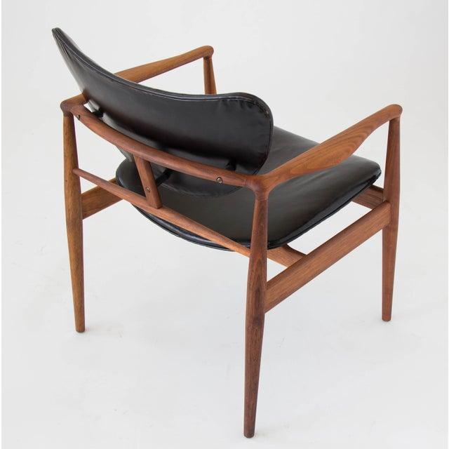 Finn Juhl for Baker Furniture Model 48 Chair For Sale In Los Angeles - Image 6 of 9