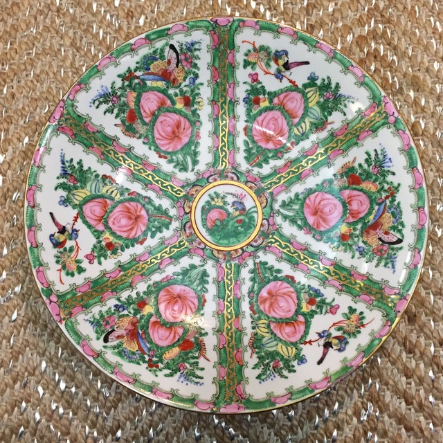 Vintage Japanese Hand Painted Floral Bowl - Image 2 of 6