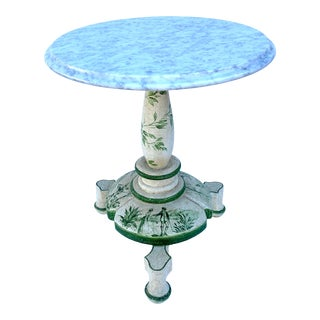 Chinoiserie Style Painted Table For Sale