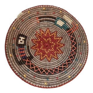 Navajo Pictorial Ceremonial Basket Attributed to Lorraine Black