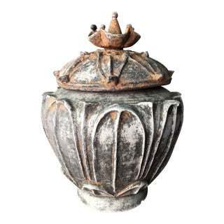 15th Century Antique Ming Dynasty Yuan Offering Vessel For Sale