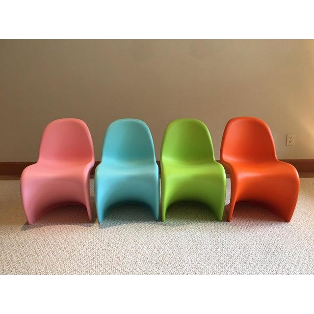 Vitra Panton Junior Chairs - Set of 4 - Image 2 of 8