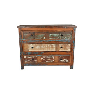 Morell Three Drawer Wooden Chest For Sale