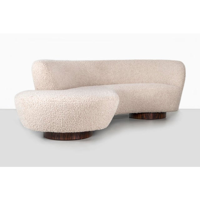 1970s Vladimir Kagan for Directional Cloud Sofa For Sale - Image 5 of 13