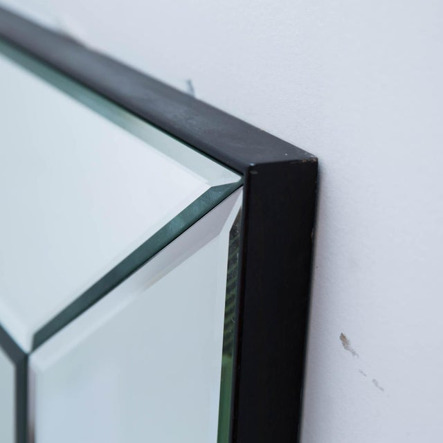 2010s Pair of 5 Panel Beveled Mirrors For Sale - Image 5 of 8