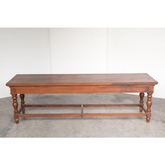 Antique Anglo-Indian Rosewood Bench - Image 3 of 7
