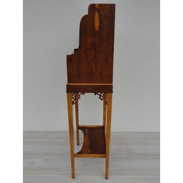 Baker Furniture Company Baker Furniture Small Entryway Console Table Cabinet For Sale - Image 4 of 13