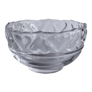 Tiffany & Co. Crystal Hearts Bowl For Sale