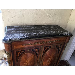 Antiques Bronze and Marble Top Cabinet Preview