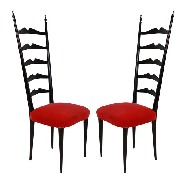 Mid-Century Modern Paolo Buffa Chairs For Sale - Image 3 of 5
