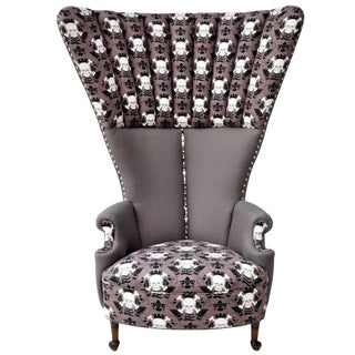"Bespoke Fabulous ""Queen"" Chair For Sale"
