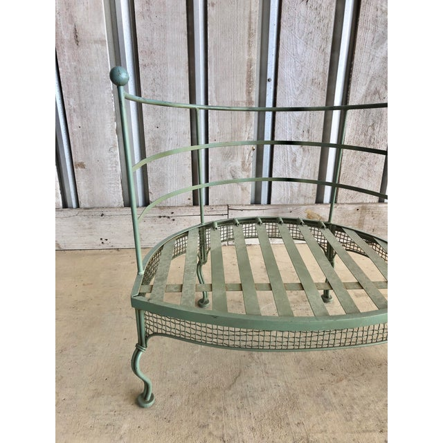 1950s Midcentury Garden Chair by Woodard For Sale - Image 5 of 6