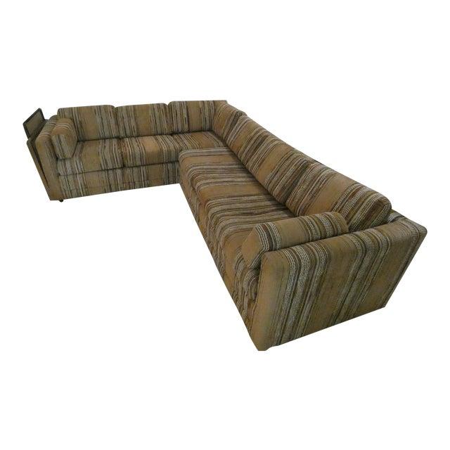 60 S 70 S Era Vintage Sectional Sleeper Sofa