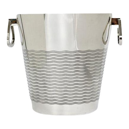 1940s French Art Deco St. Medard Champagne Bucket For Sale