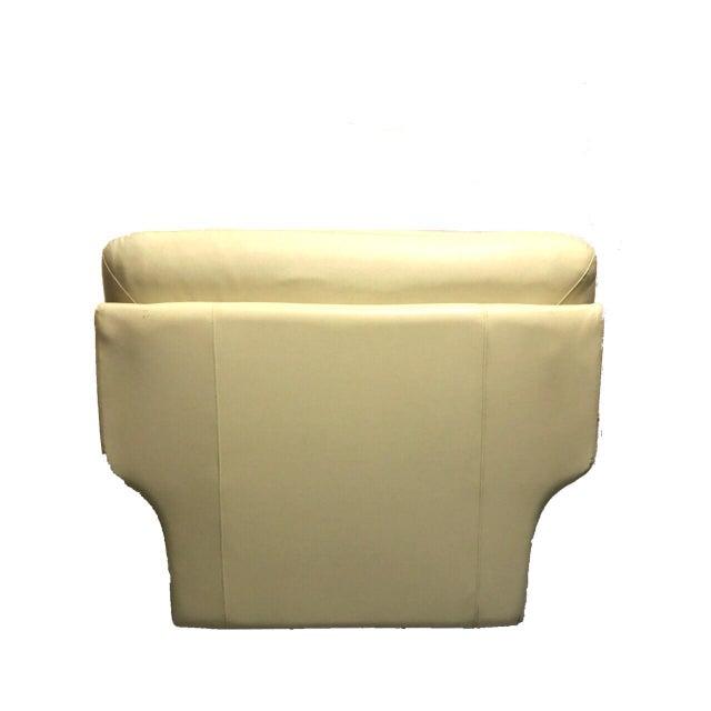 Naugahyde Atomic Club Chair - Image 6 of 10
