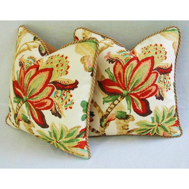 Custom Schumacher Kelmscott Manor Pillows - A Pair - Image 11 of 11