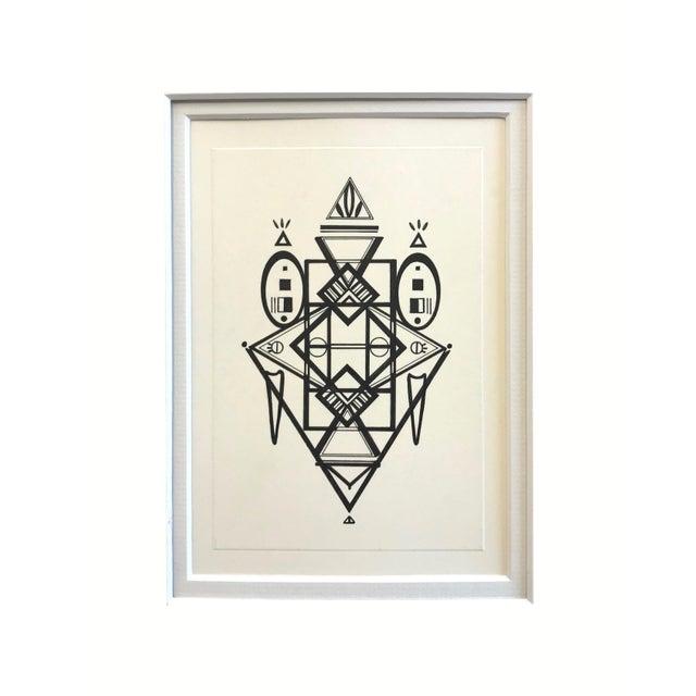 Natasha Mistry Original Ink Drawing For Sale - Image 11 of 12