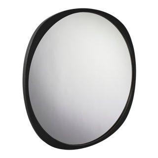 Contemporary Black Frame Fade Mirror For Sale