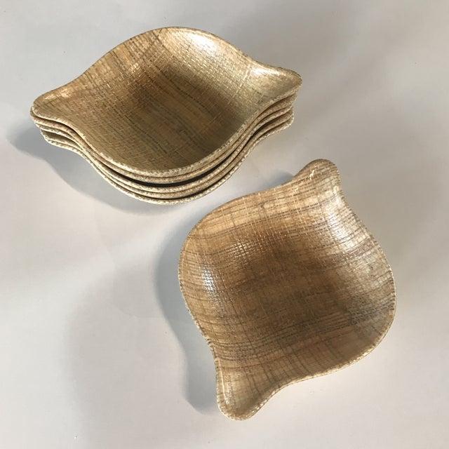 1960s 1960s Mid-Century Modern Abaca Grainwear Bowls - Set of Six For Sale - Image 5 of 5