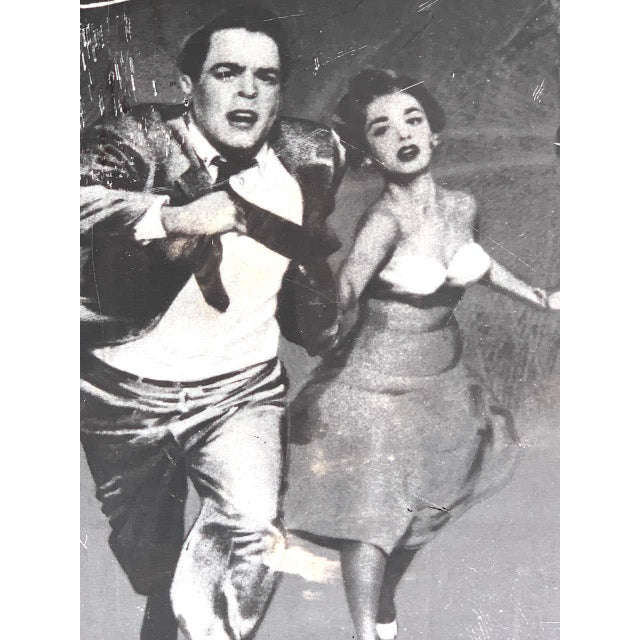 Invasion of the Body Snatchers, Black & White Movie Theatre Poster, 1956 For Sale - Image 12 of 13