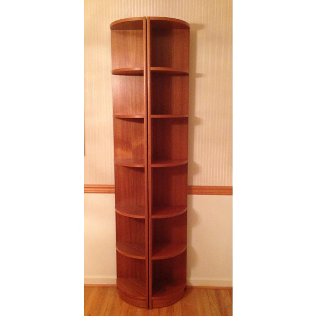 Scandinavian Style Corner Shelves - Pair - Image 3 of 6