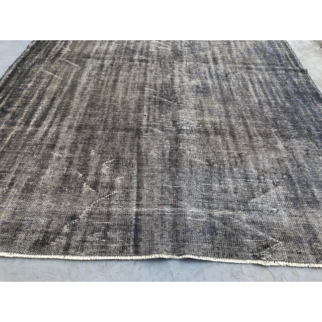 1960s Vintage Anatolian Distressed Rug For Sale - Image 5 of 10