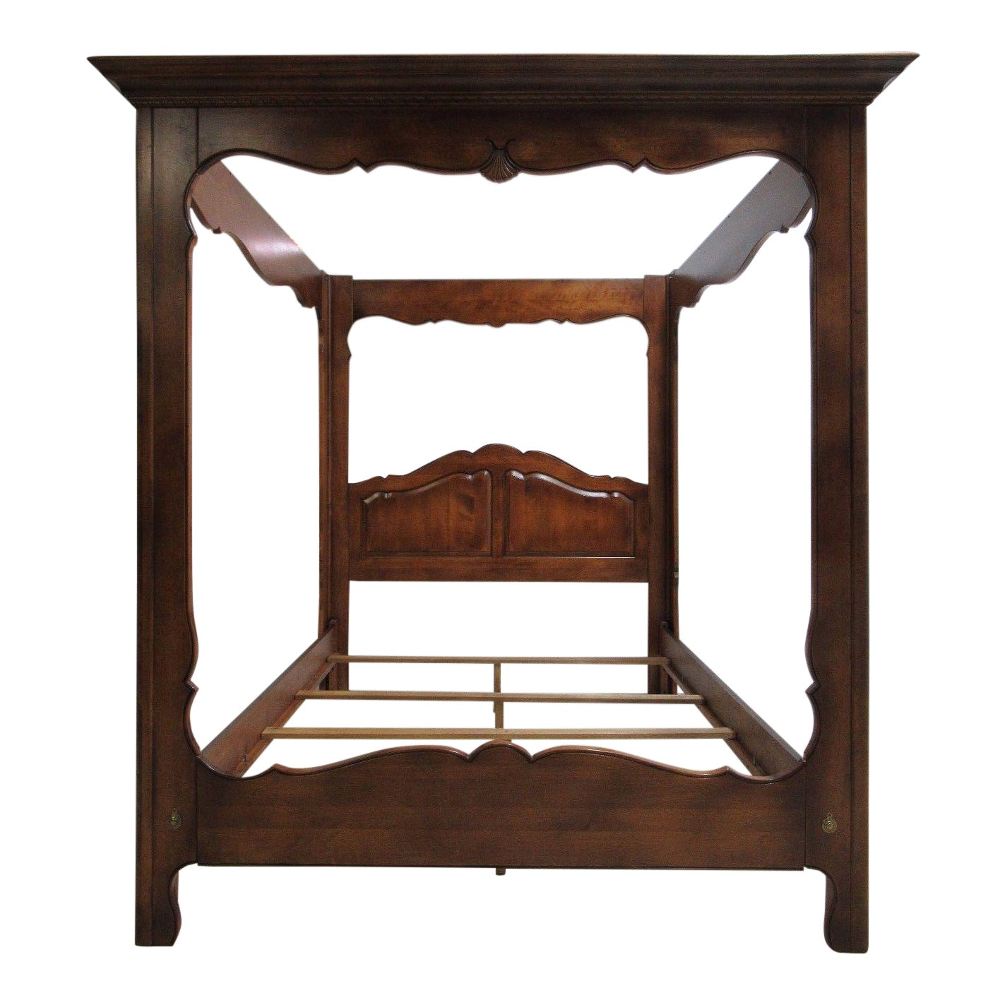 Ethan Allen French Country Coffee Table: Ethan Allen Country French Queen Size Canopy Bed