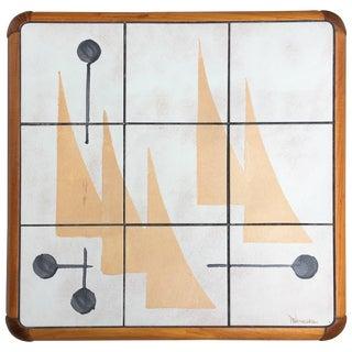 Danish Mid-Century Modern Table by Poul H. Poulsen for Gangsø Møbler For Sale