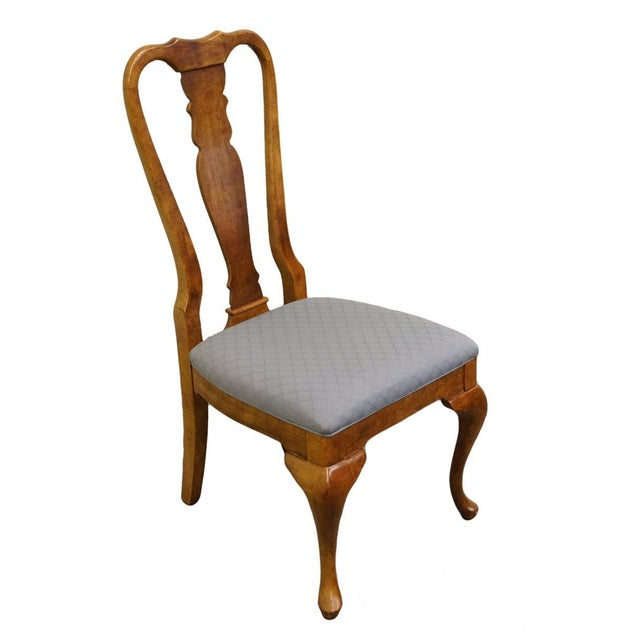 Late 20th Century Vintage American of Martinsville Queen Anne Style Dining Chair For Sale - Image 9 of 9